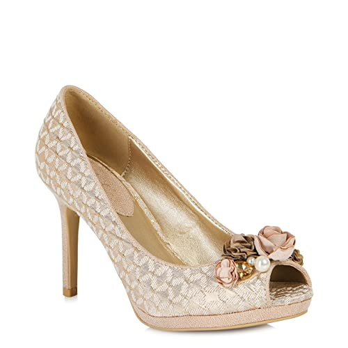 Ruby Shoo Sonia (Rose Gold) by Size 3/36