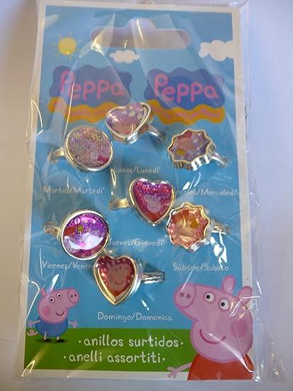 Amazon.com: Paquete de 7 día de la semana Peppa Pig Fashion ...