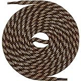 Mount Swiss© Schnürsenkel, Rundsenkel für Trekking- und Arbeitsschuhe, extra reißfest, ø 5 mm, Länge 70 - 220 cm aus Polyester