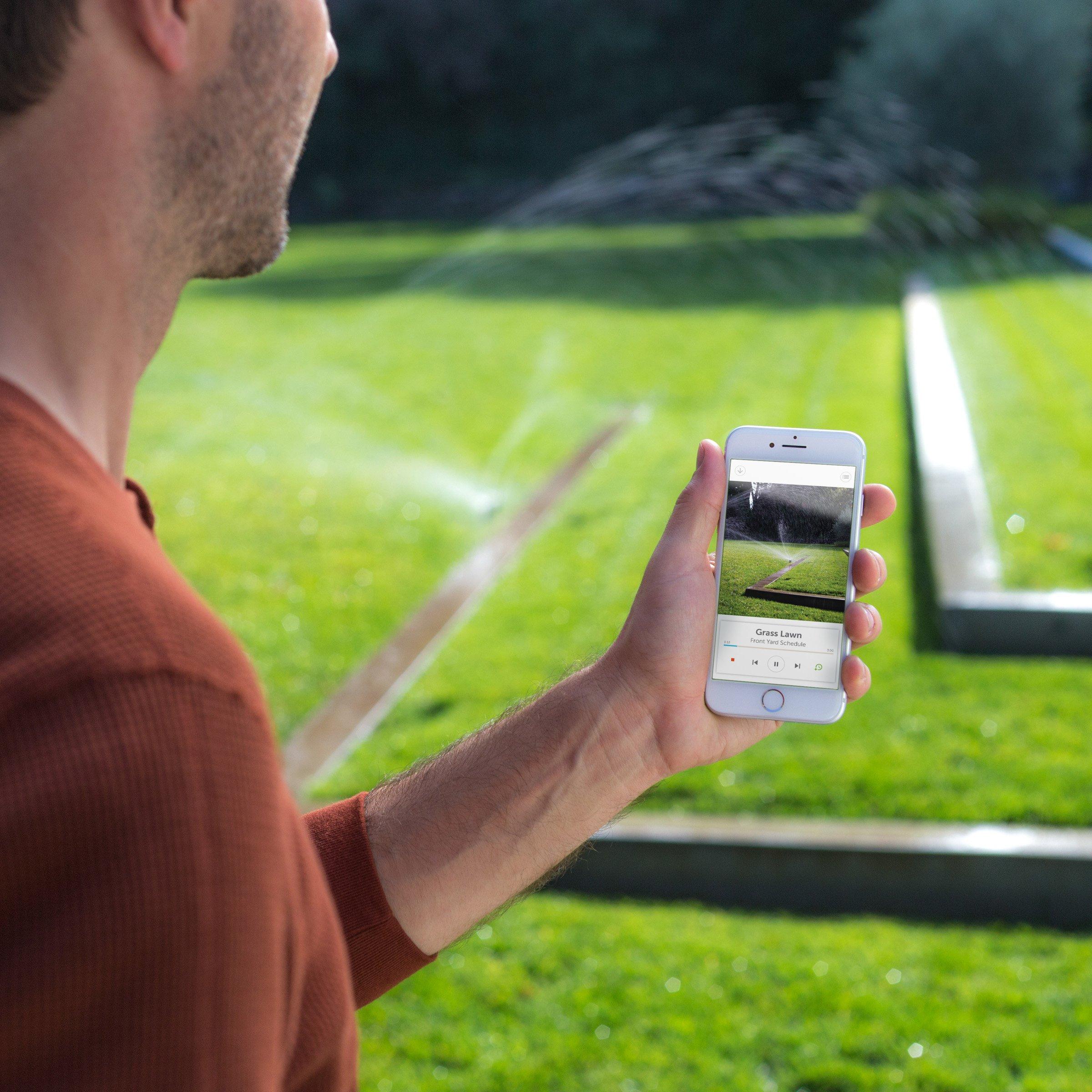 Rachio Smart Sprinkler Controller, WiFi, 8 Zone 2nd Generation, Works with Amazon Alexa by Rachio (Image #6)