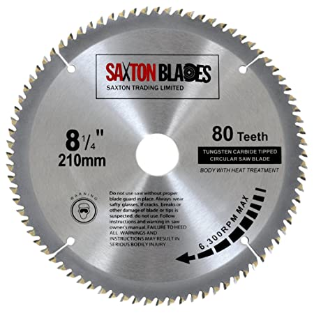 Saxton tct circular wood saw blade 210mm x 30mm x 80t for festool saxton tct circular wood saw blade 210mm x 30mm x 80t for festool dewalt keyboard keysfo Choice Image