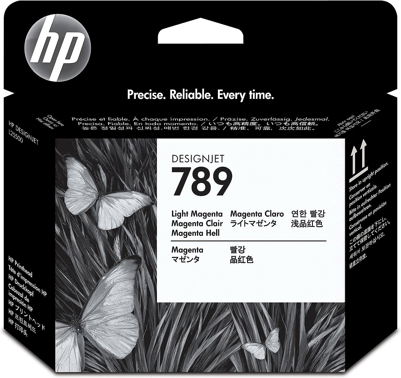 HP Cabezal de impresión HP 789 Designjet magenta/magenta claro 789 Designjet Printheads, de 15 a 30°C, 0.11 kg (0.243 libras), 0.07 kg (0.154 libras), 28 x 143 x 132 mm: Amazon.es: Oficina y papelería