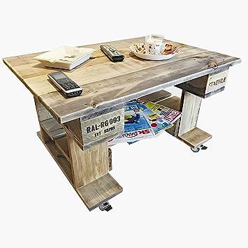 Palettenmöbel Couchtisch, Beistelltisch, TV-Tisch \
