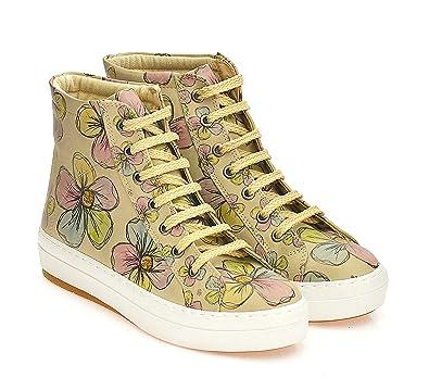 BootsDamen Goby Sneaker Goby Sneaker BedrucktFarbig 38 wXn0O8PkN