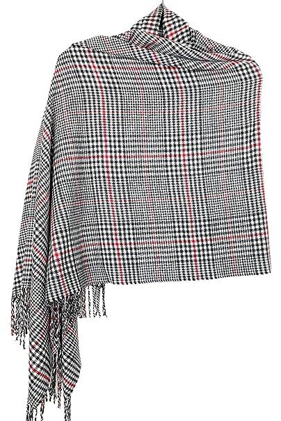 "d389bc2261 Achillea Oversized Cashmere Feel Scotland Scottish Tartan Plaid Scarf Shawl  Wrap Winter Warm 80"" x"