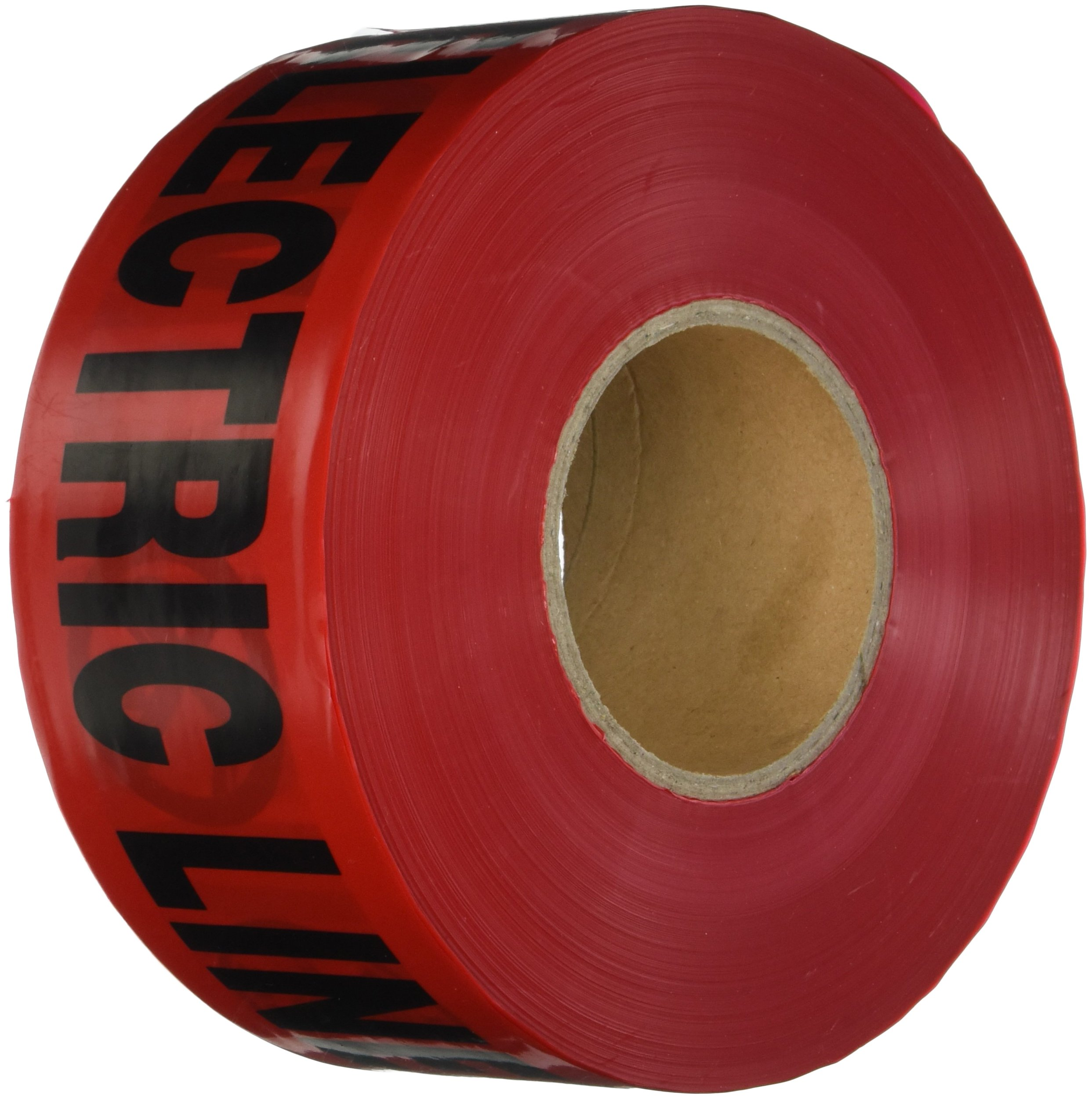 Klein Tools 58003 1000 Feet Barricade and Warning Tape with Caution/Buried Electric Line