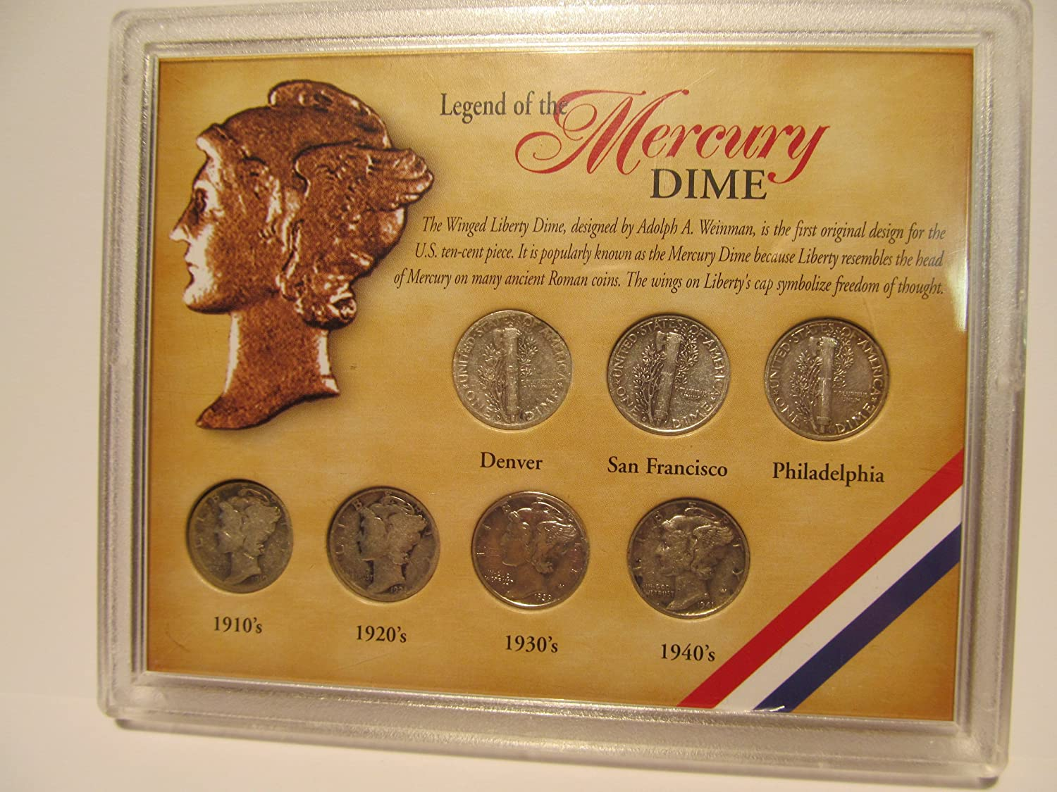 Legend Of The Mercury Dime Collection At Amazons Collectible Coins