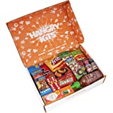 HANGRY KIT - SPICY Kit - Snack Sampler - Care Package - Gift Pack - Variety of 19 Sizzling Hot Chips, Candies, Peanuts, Gum, Ramen, Sauces and more Included - 100%