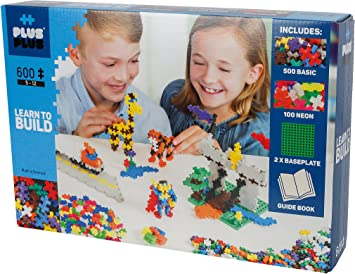 Plus Plus 600 Piezas Basic Aprende a Construir (CEFA Toys 01215 ...