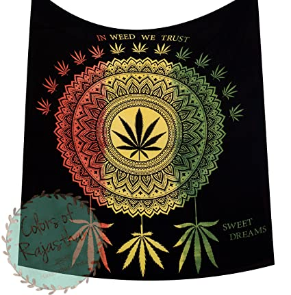 Amazon Com Colors Of Rajasthan Cor S In Weed We Trust Queen