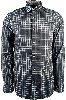 0deb92239d54d Michael Kors Men s Trim Stretch Cotton Long Sleeve Shirt at Amazon ...