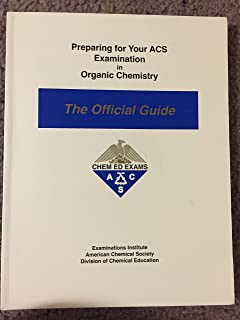 preparing for your acs examination in physical chemistry the rh amazon com acs physical chemistry study guide free download ACS Practice Exam