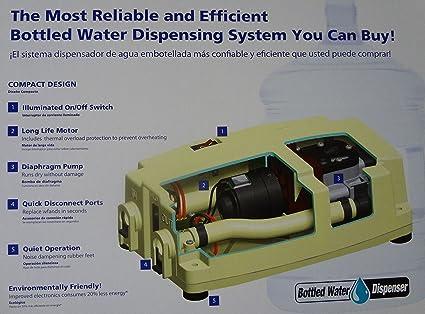 ede81f659351 Flojet BW4003-000A Bottled Water Dispenser Pump