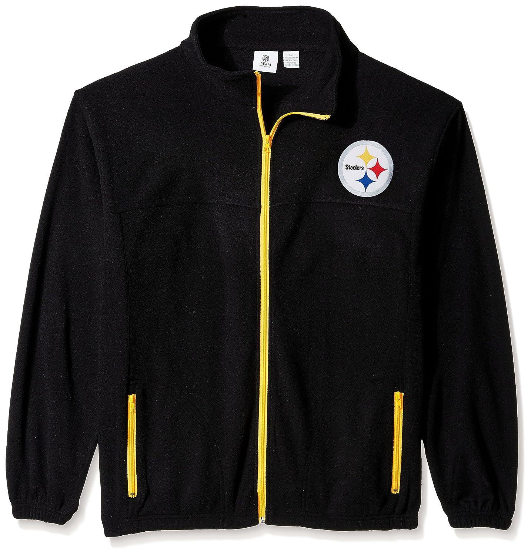 格安販売の NFLメンズスティーラーズFull Zip Polar Zip Fleece Polar 4X Fleece ブラック/ゴールド B0752YLWPK, カモシ:1dc41c06 --- arianechie.dominiotemporario.com