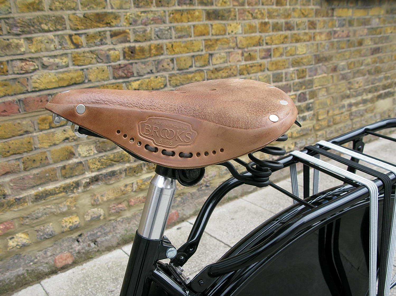 BROOKS B67 LEATHER SPRINGER BICYCLE SEAT TOURING SADDLE