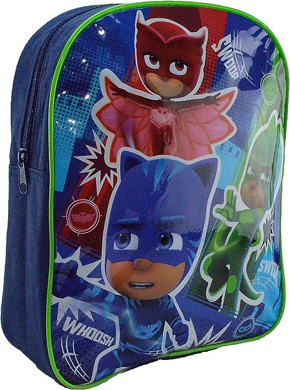 P J Masks Backpack Mochila Infantil, 31 cm, 62 Liters, Azul ...