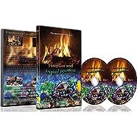 Feuer und tropische Fische 2 DVD Set 2016 - Kaminfeuer und tropisches Aquarium 2016