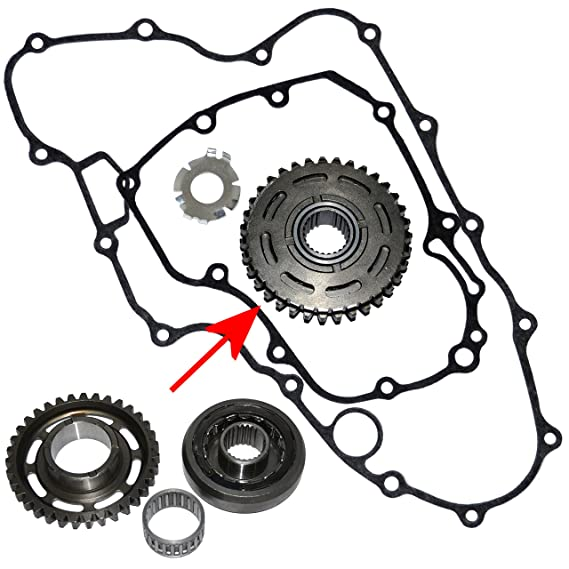 Amazon Com New One Way Starter Clutch With Gear For Honda Trx450r