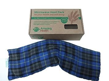 Amazing Health - Bolsa de trigo para microondas (sin perfumar ...