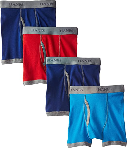 Hanes Boys Red Label Comfort Flex Sport Inspired Boxer Briefs 3-Pack