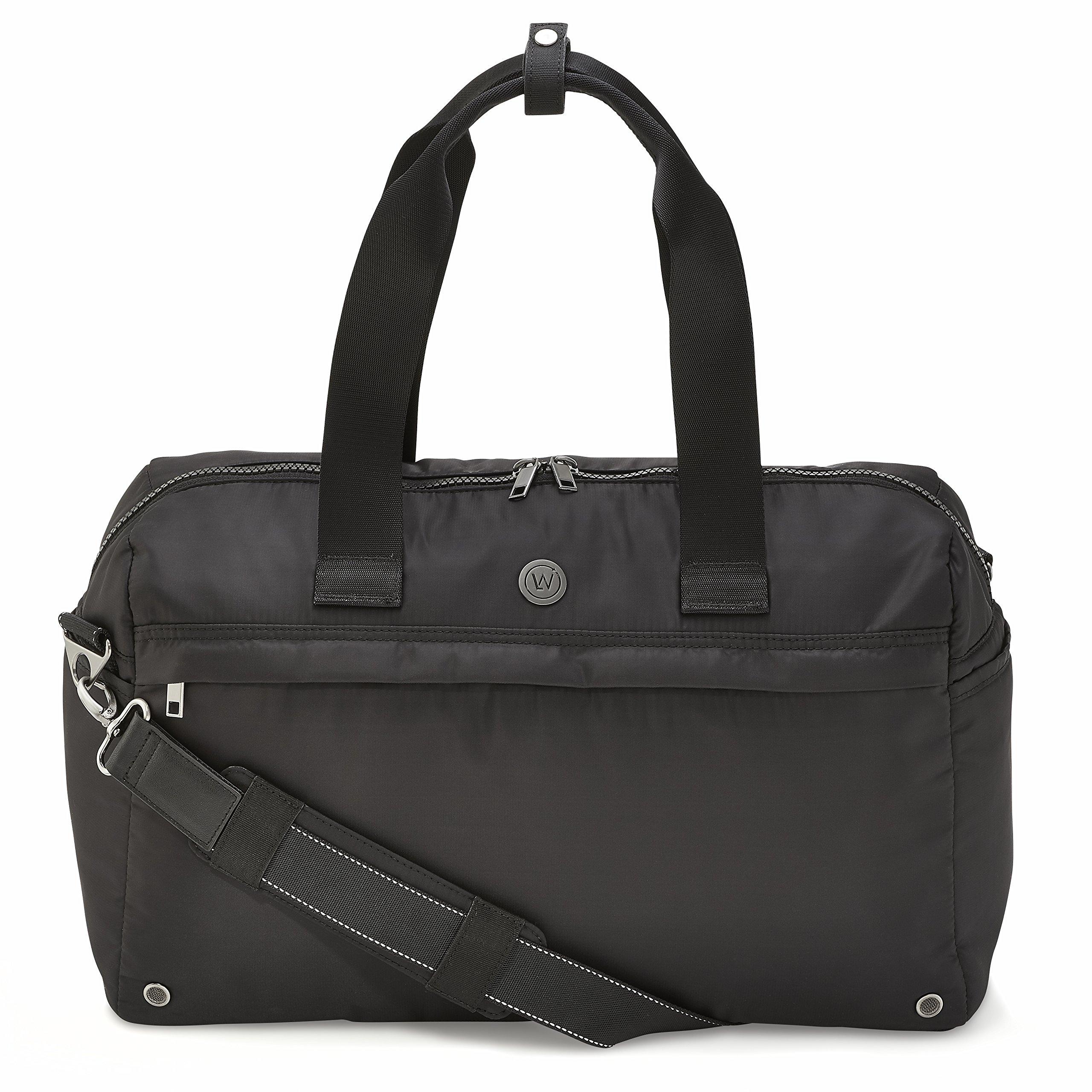 LIVE WELL 360 Core Fitness Bag (Onyx Black)
