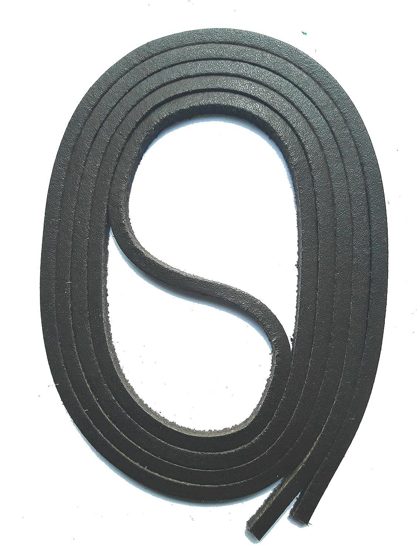 Dentelles pour chaussures SNORS LACETS de CUIR Docksider 11 couleurs 120 cm 47.2 3x3mm