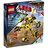 LEGO Movie 70814 Emmet's Construct-o-Mech Building Set(Discontinued by manufacturer)