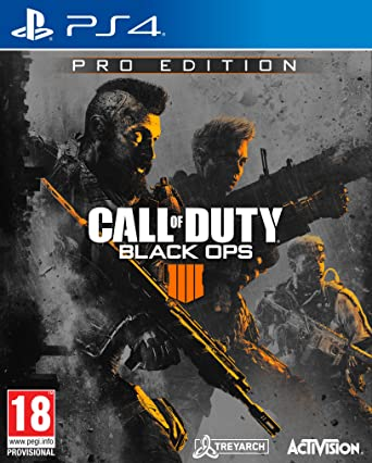 Call Of Duty: Black Ops 4 - Pro Edition: PlayStation 4 ...