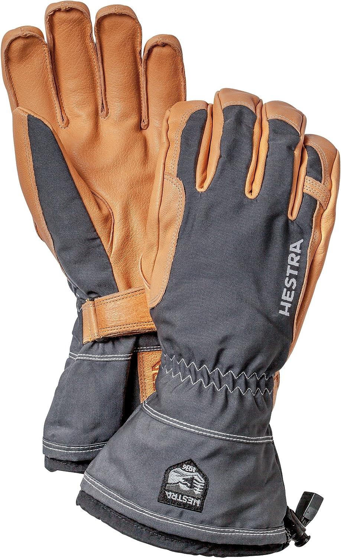 Hestra unisex Hestra Winter Ski Gloves Narvik Wool Terry Removal Liner Leather Glove