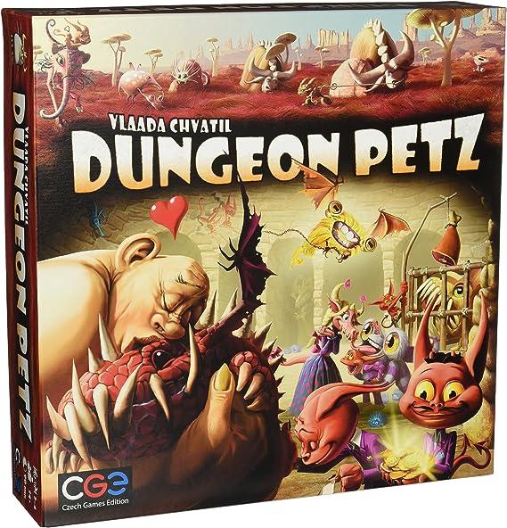 Czech Games Edition Dungeon Petz Board Game: Amazon.es: Juguetes y ...