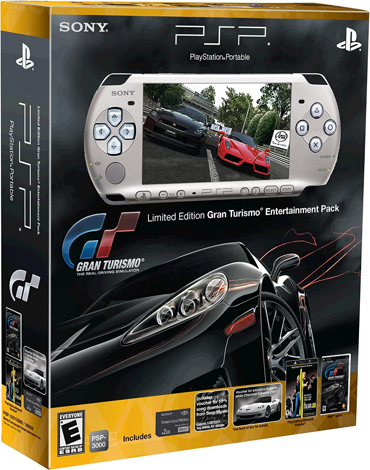 Amazon.com: PlayStation Portable Limited Edition Gran ...