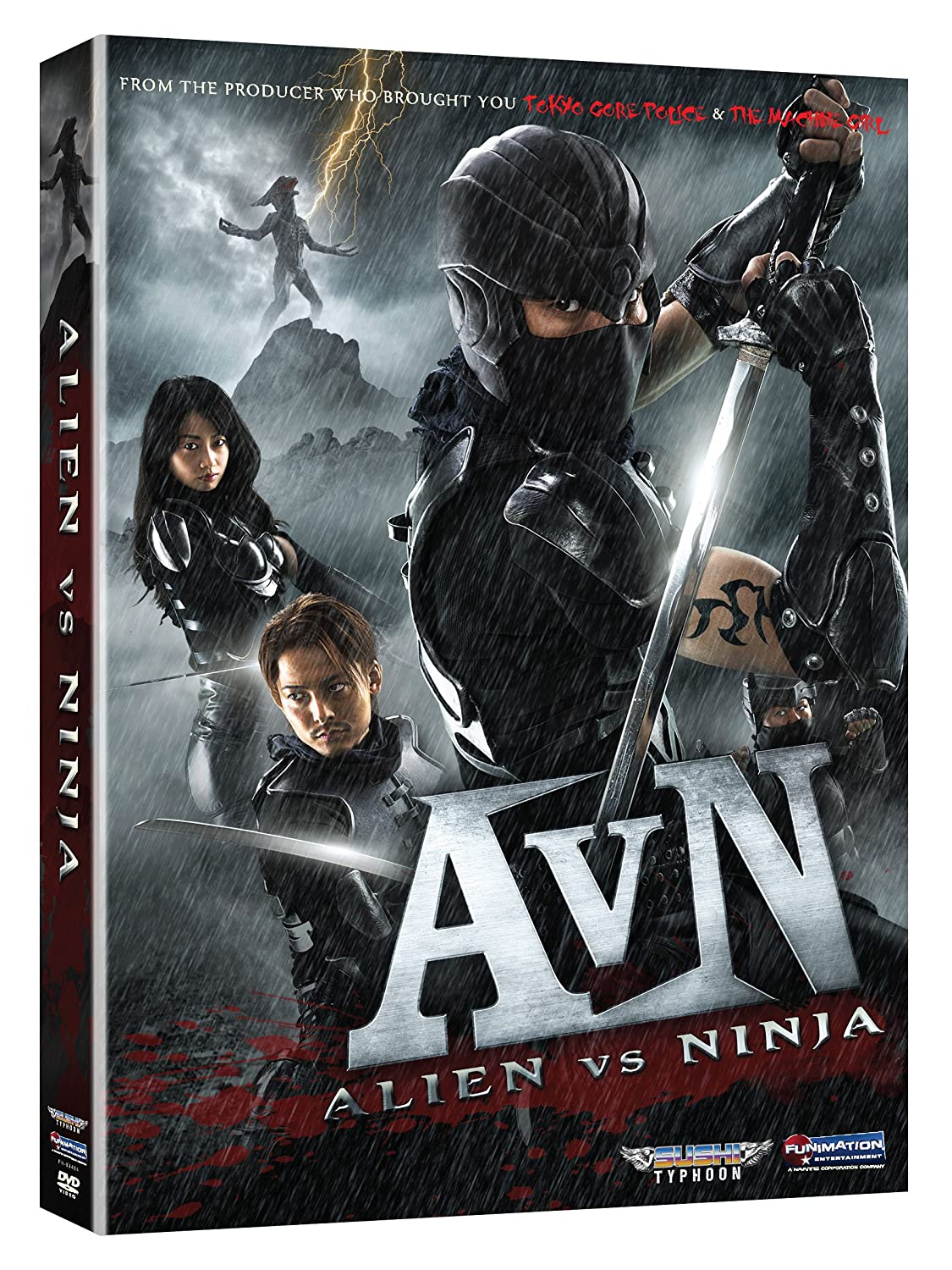 Alien Vs Ninja [Reino Unido] [DVD]: Amazon.es: Shuji ...