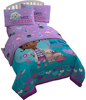 Disney Junior Doc McStuffins Cuddles Care 4 Piece Full Sheet Set