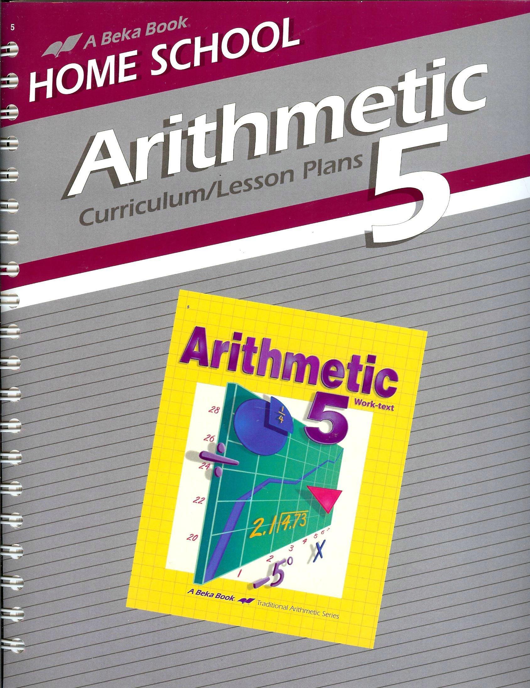 Download A Beka Book Home School Arithmetic 5 Curriculum/Lesson Plans ebook