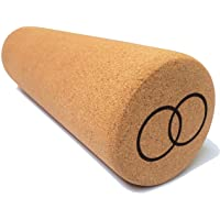 Orbsoul Cork Massage Roller - 100% All-Natural Spanish Cork, Eco-Friendly, for Muscle Pain and Tension Relief
