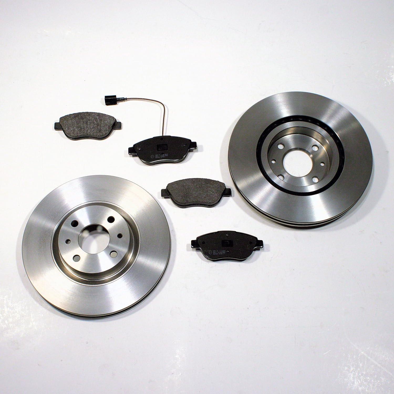 Bremsscheiben /Ø 257 mm//Bremsen Bremsbel/äge f/ür vorne//die Vorderachse