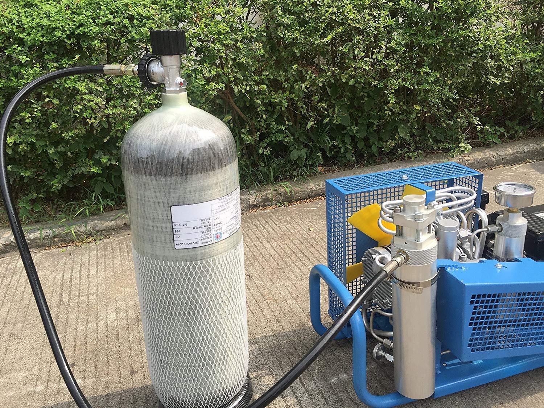 IORMAN 9L/95cf Carbon Fiber Tank (Empty Bottle) DOT