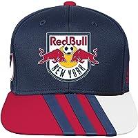 MLS Nueva York Rojo Bulls R s8fmk Youth Boys Flatbrim Gorra Talla øšnica, (8), Nueva Marina