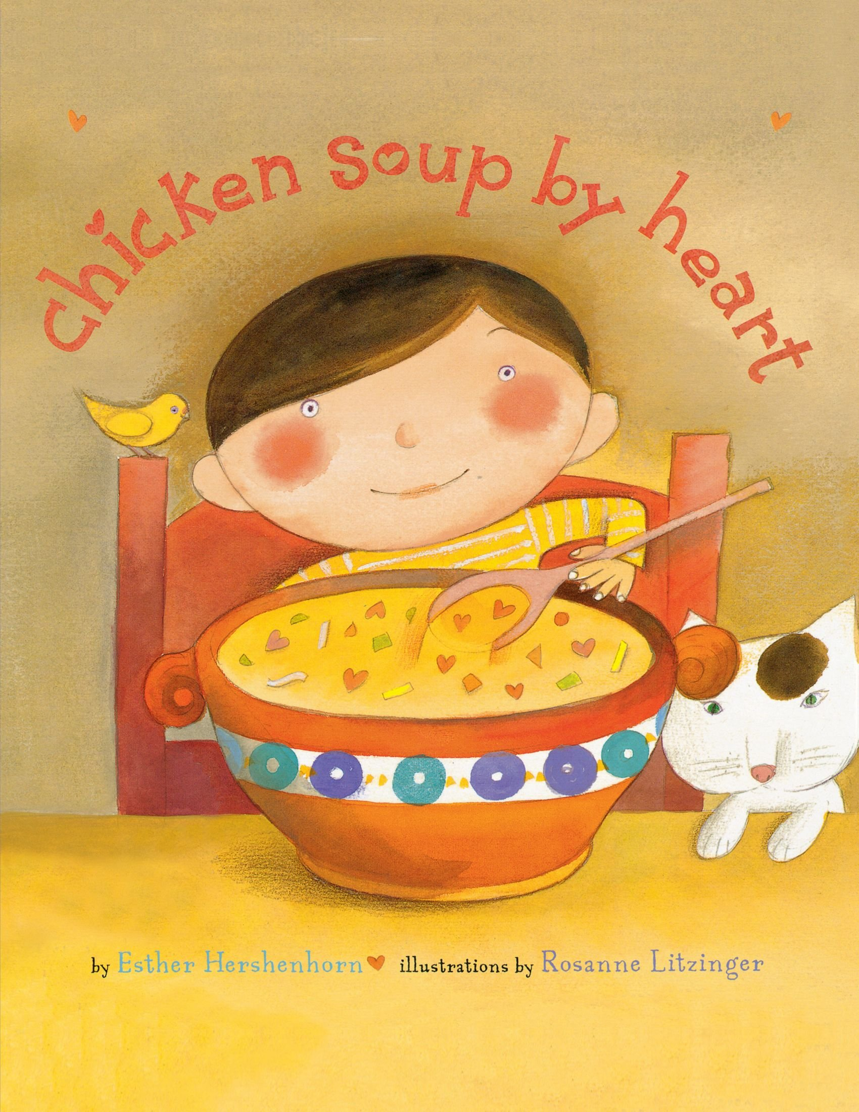 Cover Art for Chicken Soup By Heart