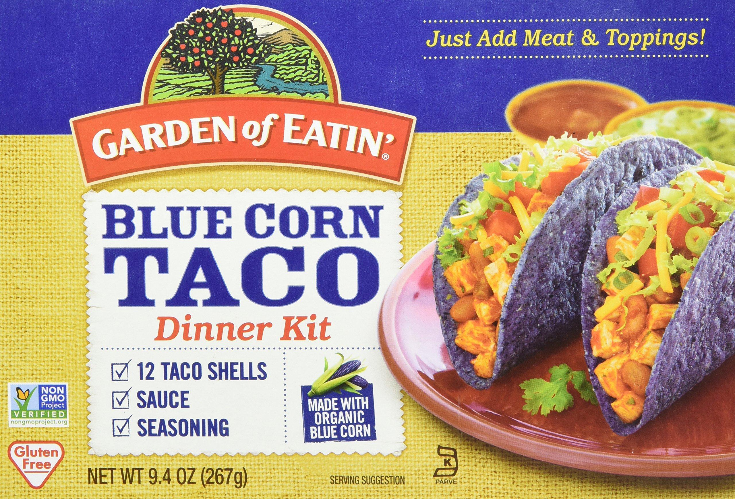 Garden of Eatin' Blue Corn Taco Dinner Kit, 9.4 oz.
