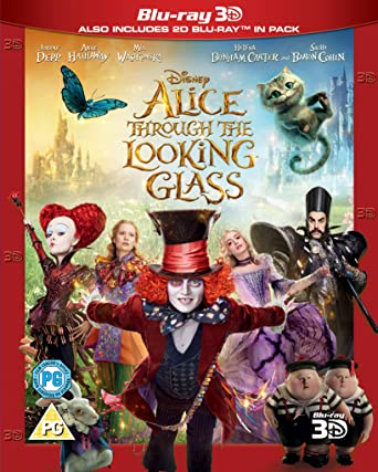 Amazoncom Alice Through The Looking Glass Blu Ray 3d Johnny
