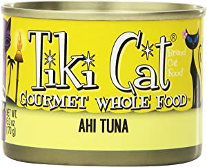 Tiki Cat Canned Food For Cats, Hawaiian Grill Ahi Recipe, 6 Oz- Case Of 8.