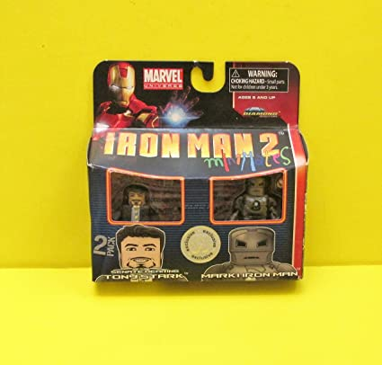 Marvel Minimates Series 35 Iron Man 2 Movie Mark V Iron Man