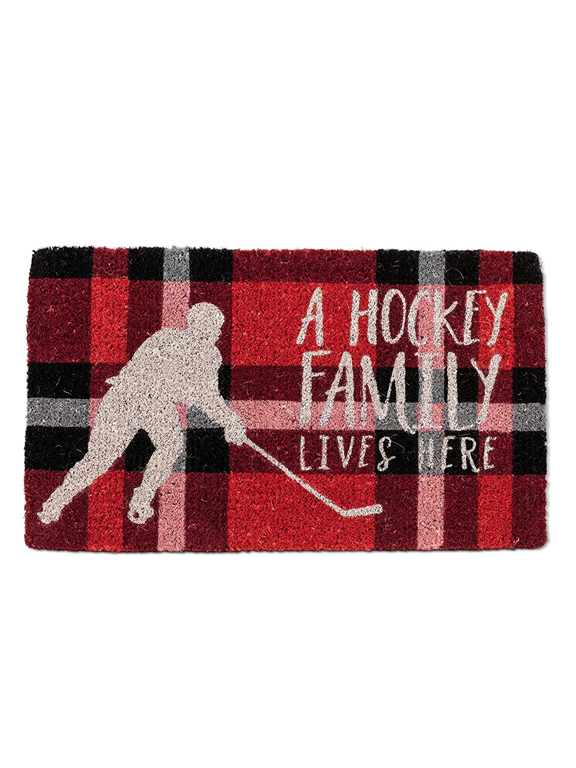 Hockey Family Abbott Collection Coir Oh Shit, Not You Again  Doormat