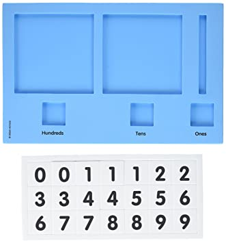 Amazon.com: Didax Educational Resources Base Ten Place Value Frame ...