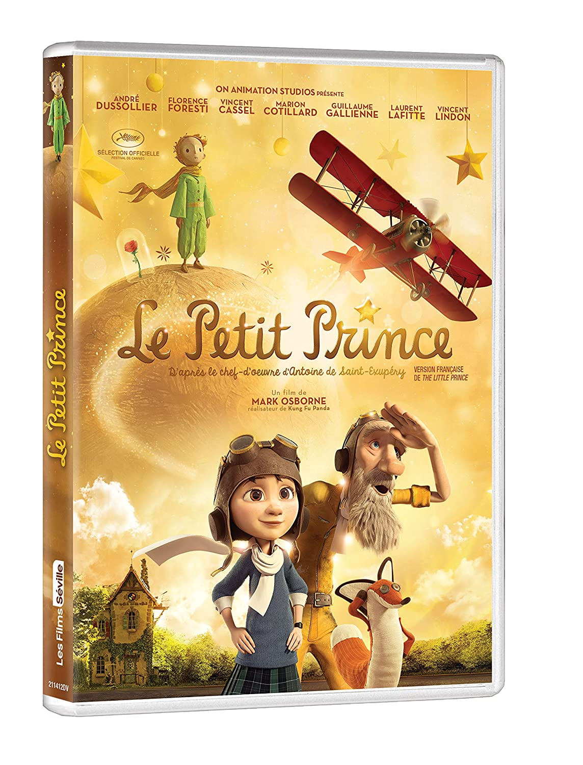 The Little Prince (Version française) James Franco Rachel McAdams Jeff Bridges Marion Cotillard