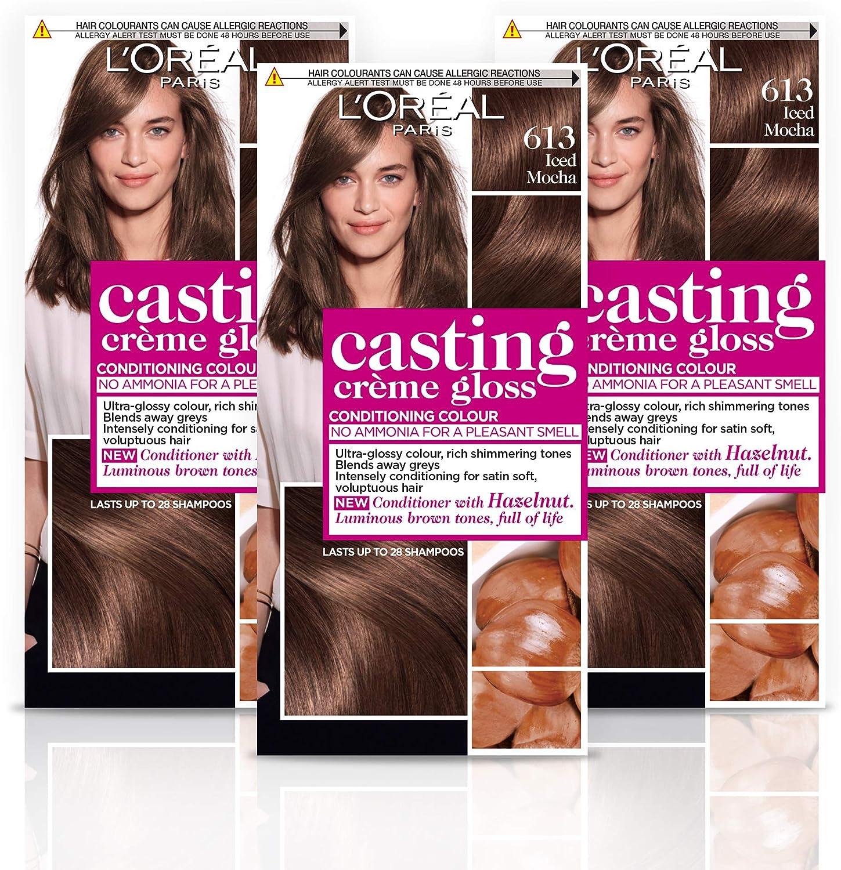 LOreal Paris Casting Creme Gloss Hair Colourant 613 Iced Mocha