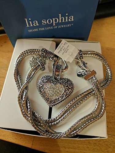 Amazon love dust retired lia sophia necklace jewelry love dust retired lia sophia necklace aloadofball Image collections