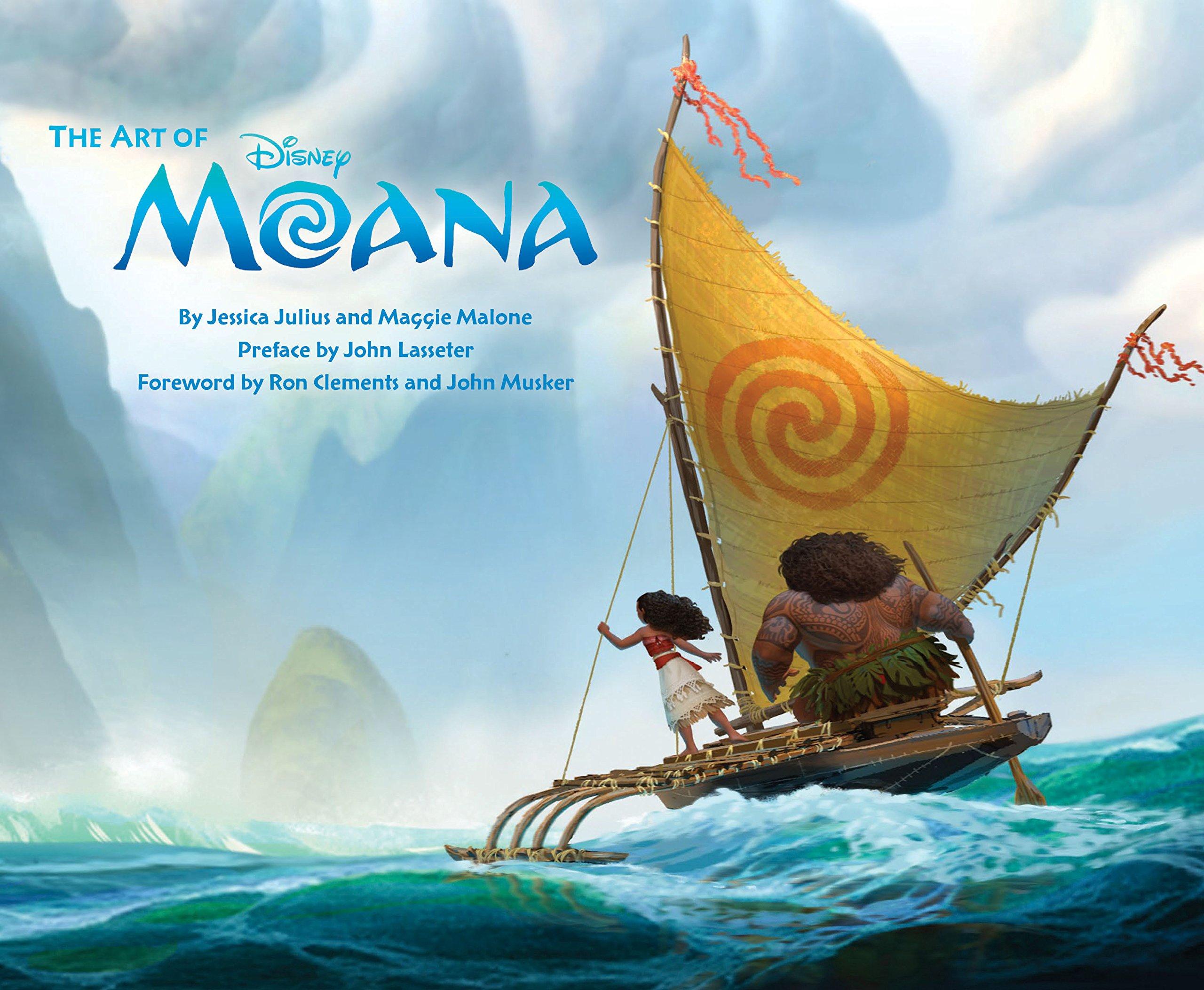Art of Moana: moana Book, Disney Books for Kids, Moana Movie ...