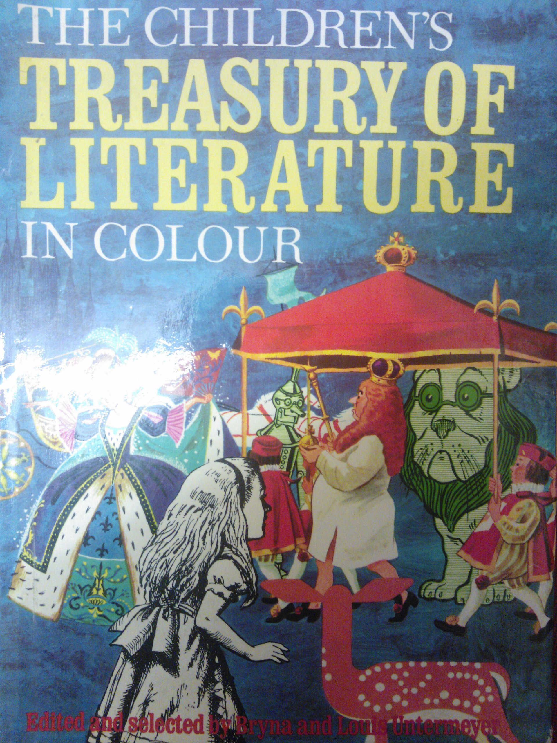 Colour childrens literature - The Children S Treasury Of Literature In Colour Amazon Co Uk Bryna And Louis Untermeyer Books